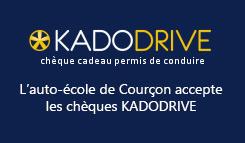 KADODRIVE - Chèque cadeau permis de conduire   - Nouvelle fenêtre