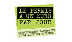Etablissement partenaire du permis à un euro par jour   - Nouvelle fenêtre